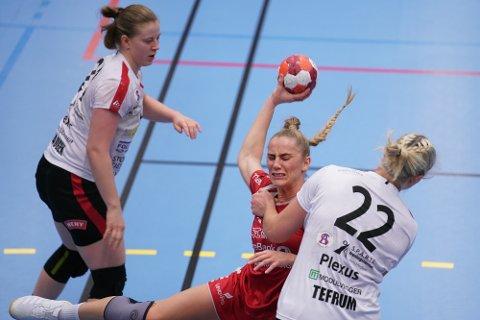 GOD MOTSTAND: Elisabeth Hammerstad og LHK måtte se seg slått av Follo.