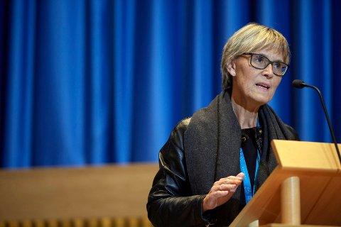 POSITIV: Kommunedirektør Torunn Austheim i Steinkjer er positiv til arbeidet med å skape ei større vinterfestuke i byen.