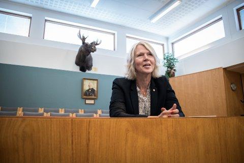 BEKYMRET: Namsos-ordfører Arnhild Holstad, og 19 andre ordførere i nedslagsfeltet til Helse Nord-Trøndelag er bekymret for økonomien i til sykehusene i Namsos og Levanger.