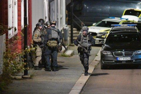 KONGSBERG-DRAPENE: Fem personer ble drept i Kongsberg onsdag. Gunnar A. Solli ved politistasjonen i Steinkjer sier de er forberedt dersom det skulle skje her.