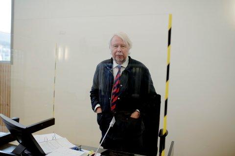 FORSVARER: Advokat Christian Wiig er fosvarer for den overgrepstiltalte mannen.