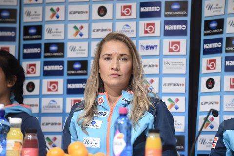 BLIR VM-TILSKUER: Skihopper Karoline Andrea Røstad fra Levanger lyktes ikke i å sikre seg VM-billett i helga.