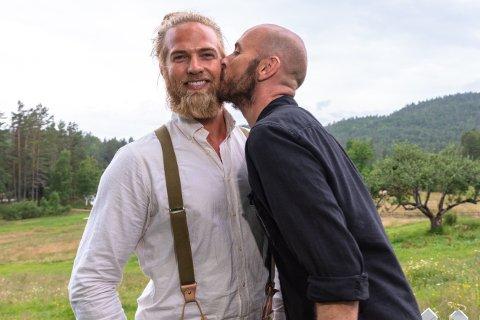 """Nære venner: Lasse Matberg og Terje Sporsem ble gode venner under oppholdet på """"Farmen kjendis""""."""