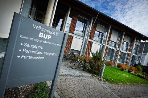 ØKNING: 750 barn og unge ble henvist, og rundt 600 fikk utredning og behandling gjennom BUP Helse Nord-Trøndelag i 2020.
