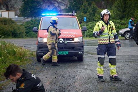 MER TID TIL ØVING: Brannsjef Rigman Pents ønsker at de 16 ansatte i brannvesenet på Frosta får økt sine stillinger slik at de får mer tid til å øve.
