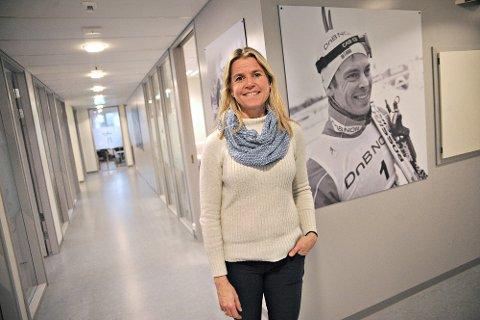 Mari Ann Landsem Melhus er en av søkerne til rektorstillingen. Hun jobber i dag som kontaktlærer ved samme skole.