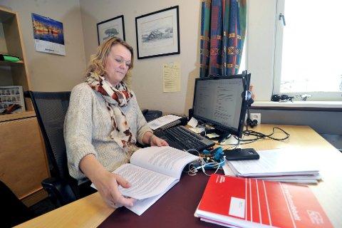 GLAD: Ordfører Bente Estil i Lierne er glad for at grensa åpnes opp for dagpendlere fra Sverige, fra og med tirsdag morgen.