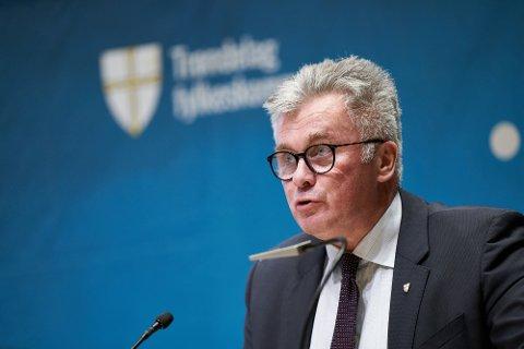 Foreløpige tall viser 95 millioner til gode fra året 2020 i Trøndelag fylkeskommune, ifølge fylkesrådmann Odd Inge Mjøen. Arkivbilde.