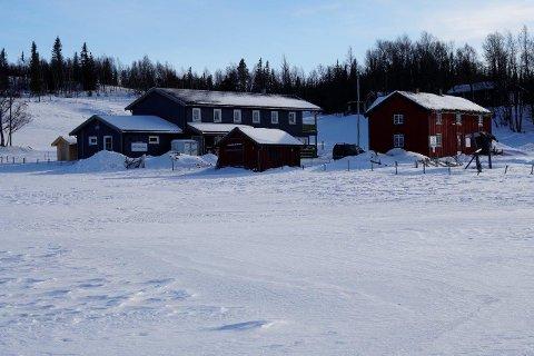 STRAKS KLAR: Turisthytta i Stordalen er straks klar til å ta imot gjester.
