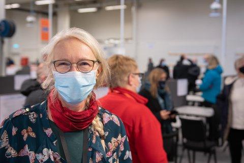 SAMME KILDE: Kommuneoverlege Tove Røsstad sier at det er et nytt utbrudd på gang i Trondheim, etter at ti personer ble smittet av samme kilde.