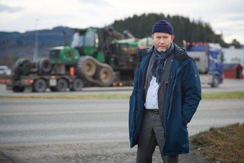 MOT LYSERE TIDER: Regiondirektør Tord Lien i NHO Trøndelag sier at optimismen er i ferd med å komme tilbake hos bedriftene. Det viser resultatene i ei medlemsundersøkelse som ble offentliggjort tirsdag ettermiddag.