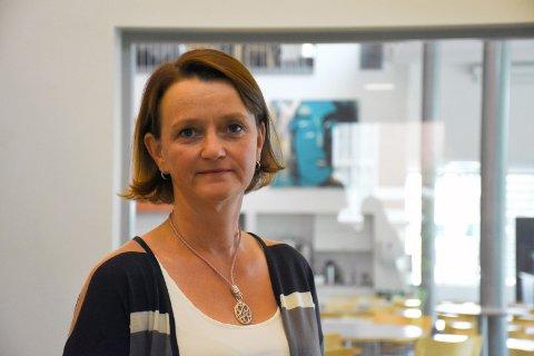 REKTOR: Anne Johanne Hatlinghus vender tilbake til Mære landbruksskole som skolens første kvinnelige rektor. – Jeg synes jeg kjenner skolen godt og føler jeg kommer litt hjem, sier den påtroppende rektoren.