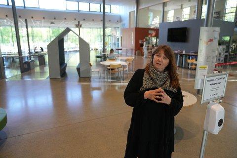 REKTOR: Grethe Eliassen Friedrich ved Levanger videregående skole.