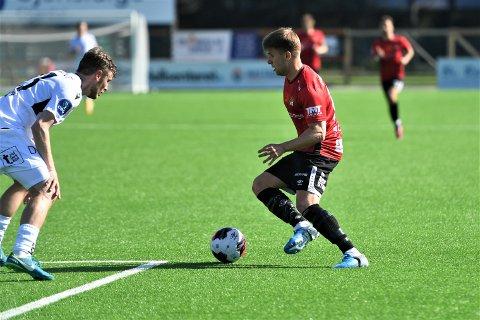 VENTER PÅ TOPPFORM: Sondre Stokke under det bitre 0-1-tapet for Åsane. Angrepsspilleren lover bedre offensive takter fremover: - Det kommer!