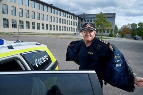 Villmannskjøring: Politioverbetjent Morten Heggdal lover at politiet vil gjøre alt for å luke bort villmannskjørerne fra trafikken.