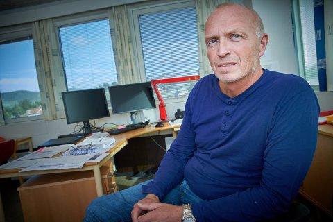 VIL BLI SJEF: Erling Overrein (59) søker jobben som administrerende direktør for Steinkjerbygg AS. Han er i dag enhetsleder for vann, avløp og utbygging i Steinkjer kommune.