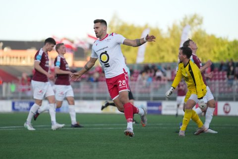 Emanuel Vladic og LFK vant hele 6-0 mot Nardo onsdag kveld