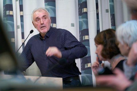 VILLE BEHOLDE: Gunnar Løvås (SV) ville beholde Leira mottak som i dag, i tilfelle flyktningesituasjonen endrer seg.