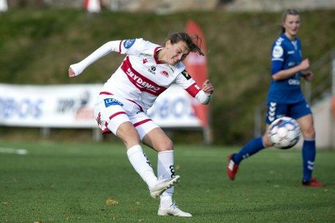 UTE: Rakel Engesvik har de siste ukene vært satt ut med kyssesyken, og mister dermed gullkampen mot gamleklubben på Lade.
