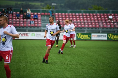 SENTRAL: Erik Olsen har fått mye spilletid i LFKs trebackslinje denne sesongen.