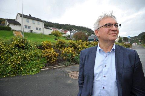 Venstres stortingsrepresentant André Skjelstad håper på en ny periode på tinget. Han peker på arbeidsplasser i distriktene og bedre arbeidsvilkår for helsearbeiderne som noe som ligger ham på hjertet. Arkivbilde.