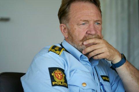 DEL AV UTVIKLINGEN: Politisjef Snorre Haugdahl mener innføringen av elektrosjokkvåpen hos politiet er en del av samfunnsutviklingen.