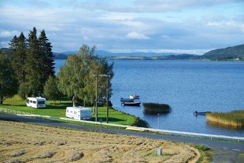 Leksdalsvatnet i Verdal.