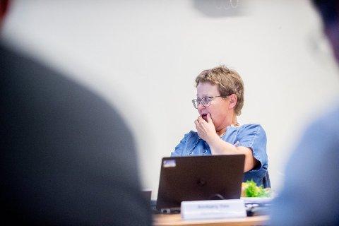 BEKYMRET: Foretakstillitsvalgt Anbjørg Støa for Norsk Sykepleierforbund i Helse Nord-Trøndelag er også bekymret for omdømmet til Helse Nord-Trøndelag, i lys av utsiktene til nedbemanning av 90 til 100 årsverk.