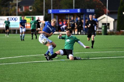 NEDERLAG: Oskar Hynne og Vuku gikk på sesongens andre tap da Heimdal/Kattem gjestet Elman Stadion.