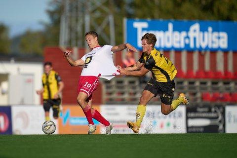 STOPP: Jo Sondre Aas og LFK tapte 1-0 søndag. Kanskje var det nådestøtet for LFKs opprykkssjanser.