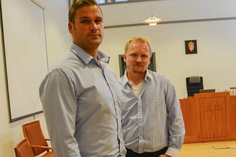 Tar saken videre: Geir Byvold og Atle Goutbeek i Kontrast Eiendom AS gikk til søksmål, og tapte fullstendig. Nå går det mot en ny rettsrunde i lagmannsretten.