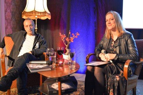Jørn Stubberud ble bokbadet av Anita Thorbjørnsen.