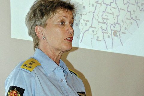 Politimester Kirsten Lindeberg.