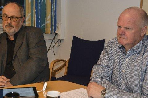 Tillitskrise: Rådmann Pål Frydenberg og Tvedestrand kommune, ved ordfører Jan Dukene (TTL) er blitt enige om en avtale som tirsdag legges frem for kommunestyret i et lukket møte. arkivfoto