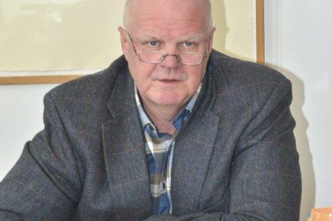 Orienterte: Ordfører Jan Dukene tok «steinsaken» opp på formannskapets møte sist uke.