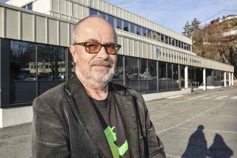 I morgen møter Pål Frydenberg opp på kommunehuset for å rydde pulten og kontoret. (Arkivfoto)