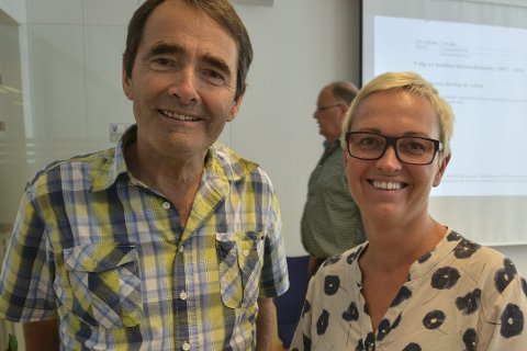 Torleif Haugland og June Marcussen
