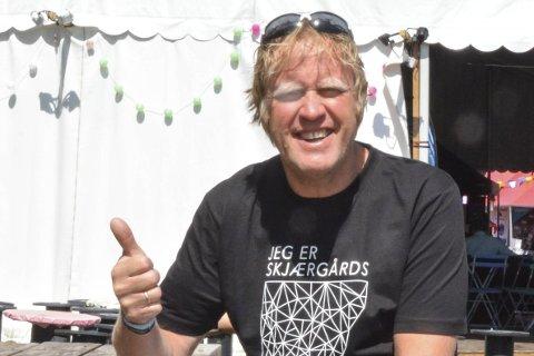 Tommel opp: Festivalsjef Jarle storebø er storfornøyd med billettsalget så langt i år. Foto: sonia Patella