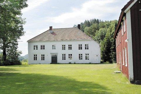 Holt prestegård: Ble modernisert og pusset opp før den forrige soknepresten og hans familie flyttet inn. Arkivfoto