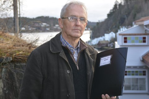 Eiendomsavklaring: Martin Varden mener en tredjedel av Bjorholmen, der Seilerhytta står, kan tilhøre ham, og har engasjert advokat for å få en avklaring. Foto: Olav Loftesnes