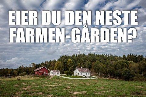 Produksjonsselskapet Strix vil ha en sjønær gård på Sørlandet til neste sesong.