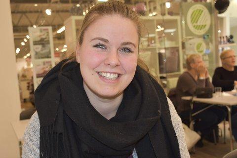 Energisk jente: Marit Lilleødegård er en av dem som gjør en stor innsats for barn og unge i distriktet. Foto: Anne Dehli