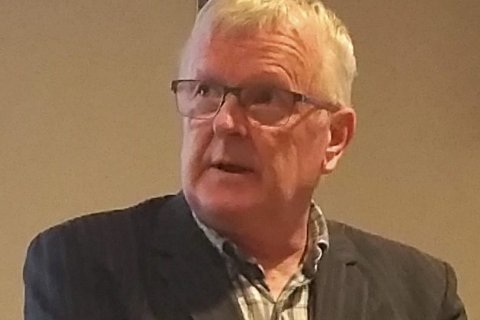 Klart standpunkt: Fylkesleder i Utdannings-forbundet, Ottar Stordal.