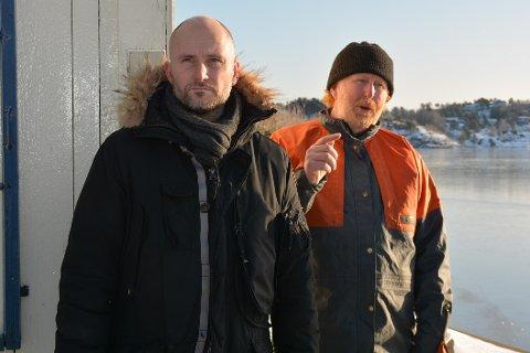 Gikk på knusende tap: Advokat Morten Hassum og hans klient Jan Monrad.