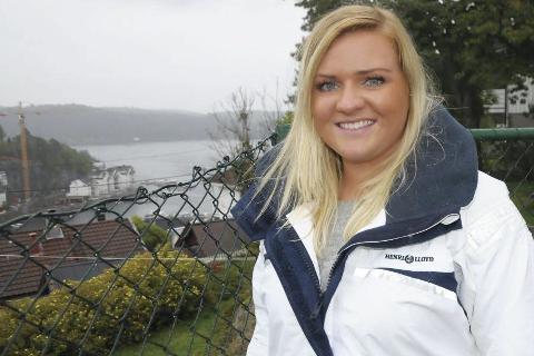 Fikk jobben: Caroline Strandene Helberg er ansatt som miljøterapeut ved Vegårshei skule. Stillingen er et vikariat på ett år. Arkivfoto