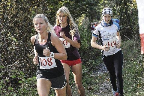 Fagerheikongen: Elisabeth Eldrup, Hedda Janette Hoffstad Gjone  og Lucia Philipp deltok for tre år siden. Lucia har denne sesongen markert seg med en rekke knallsterke toppløp. arkivfoto