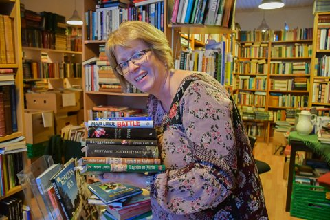 Leder i Bokbyen ved Skagerrak og Bokbyen Forlag, Solveig Røvik, har hodet fullt av jubileumsidéer.