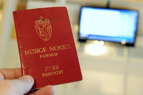 Neste år vil det trolig ikke være mulig å få utstedt pass i Tvedestrand lenger. Illustrasjonsfoto