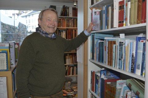 Helge Baardseth: Da han drev research på en av forfatterne han skal snakke om lørdag, fant han en uventet forbindelse. Arkivfoto