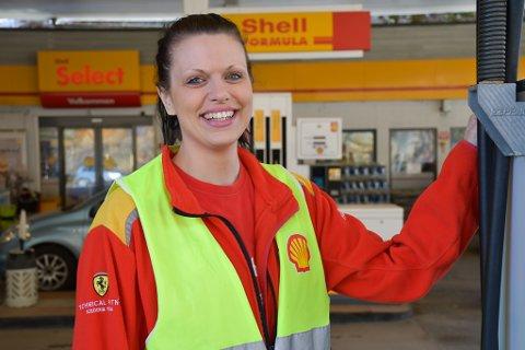 Ariela Mehlum forteller om jobben på Shell - og om hverdagen som alenemamma.